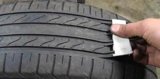 Как нас обманывают продавцы шин, несколькими движениями делая из старой резины — новую