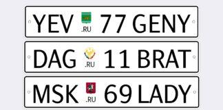 Как будут выглядеть новые автомобильные номера в России