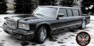 Созданный для Путина уникальный лимузин ЗИЛ можно купить за $1.2 млн