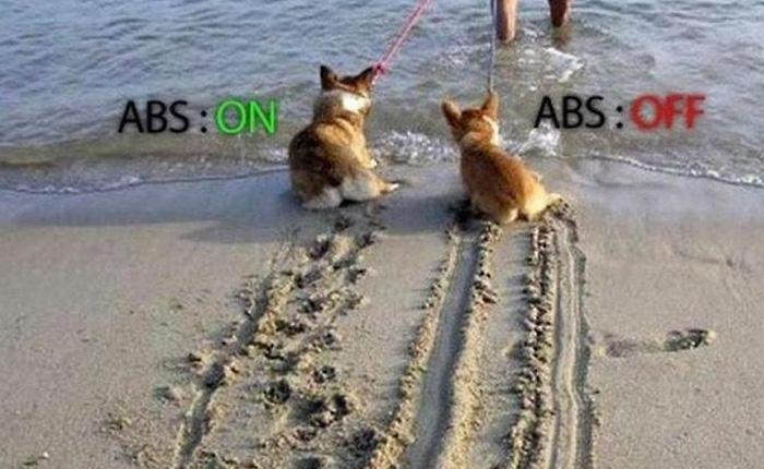 Как работает система ABS.