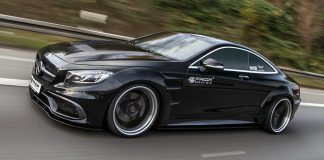 Mercedes-Benz S-Coupe в обвесе от Prior Design