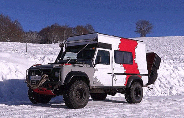 Wild Fennec от Land Rover