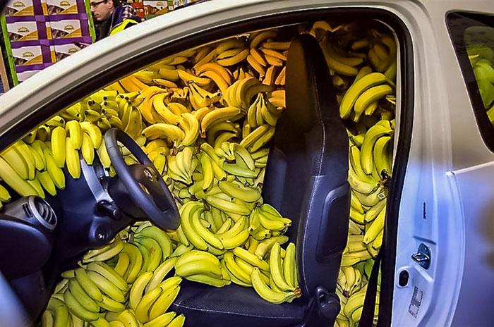 Когда устроился охранником на склад бананов