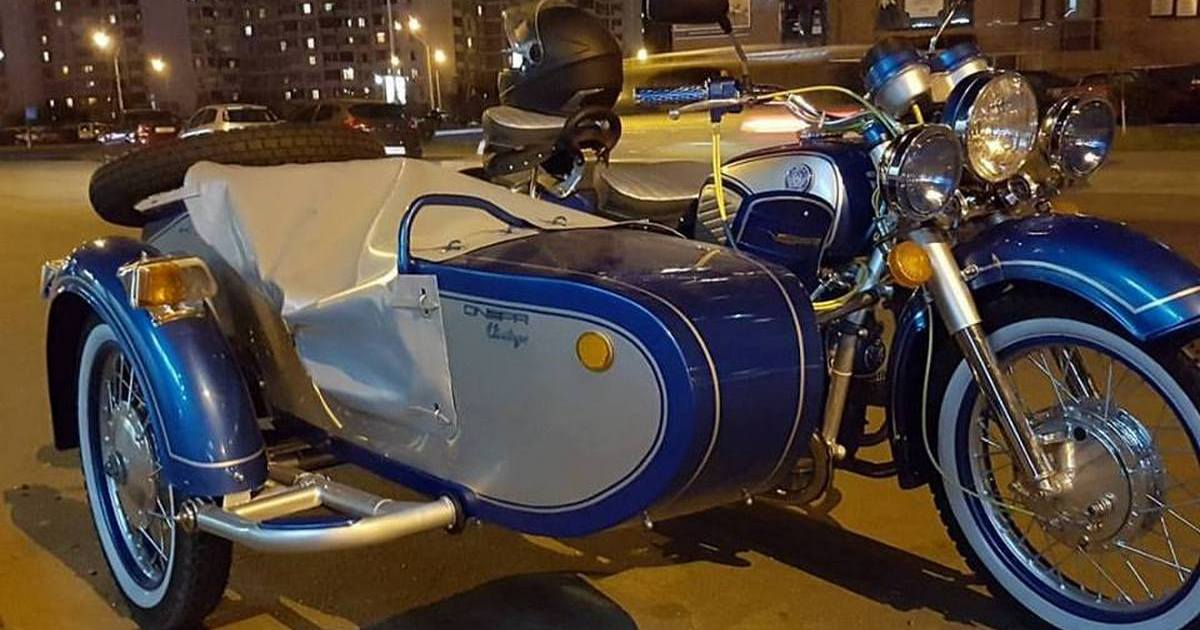 Грузовик из мотоцикла днепр