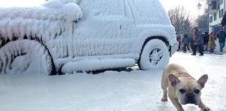 Как правильно разморозить машину после «ледяного дождя»