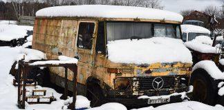 Mercedes-Benz 407D завёлcя после 12 лет простоя на улице
