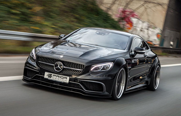 Mercedes-Benz S-Coupe в обвесе от Prior Design
