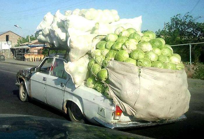Продам урожай, куплю новую машину