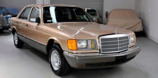 Mercedes-Benz W126 простоял 35 лет, но работает лучше новых современных автомобилей