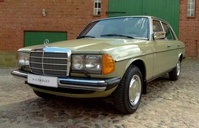 Mercedes-Benz E-class W123