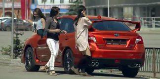 Удивительный автомобиль-хамелеон шокировал прохожих