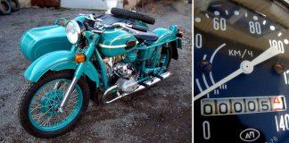 Дедушкин клад: мотоцикл «Урал» 1981 года с пробегом 5 километров