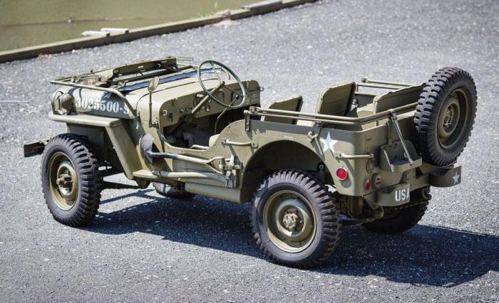 Кит-кар Willys MB Jeep «Виллис» 1944 года в оригинальной упаковке