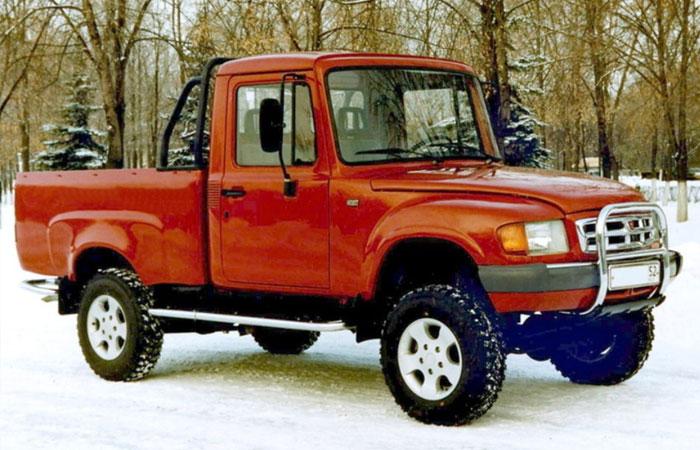 ГАЗ-230810 «Атаман-Ермак», 1999 год