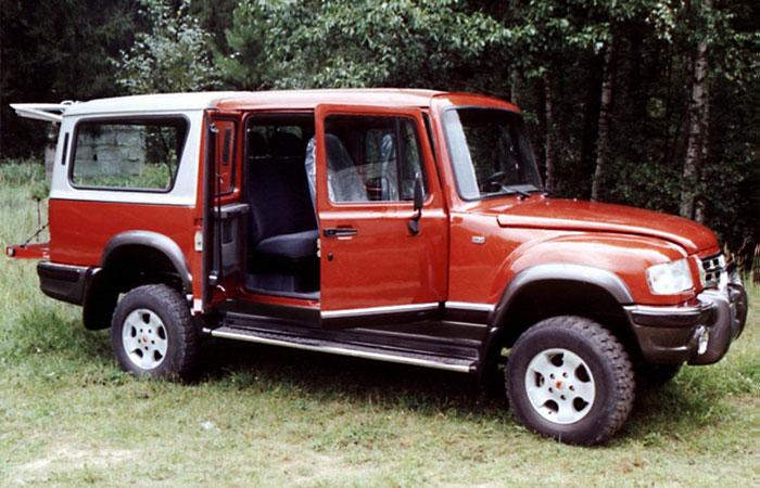 ГАЗ-2169 «Комбат», 2000 год