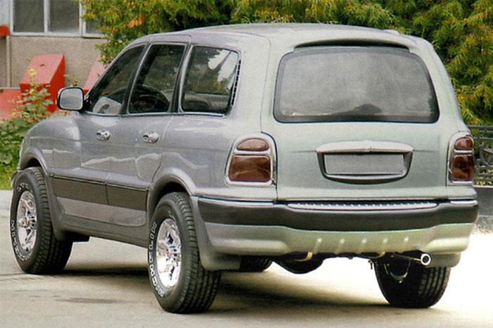 ГАЗ-3106 «Атаман-II», 2004 год