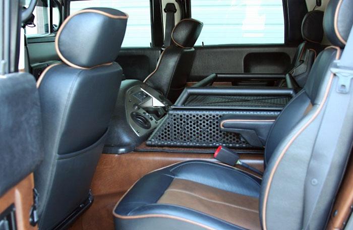 Тюнингованный Hummer H1 Alpha с агрессивным дизайном за $150 тыс.