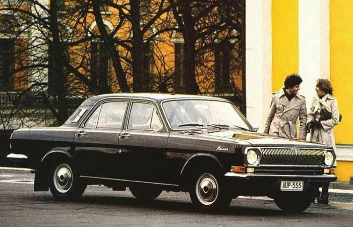 Реклама автомобиля «Волга» ГАЗ-24