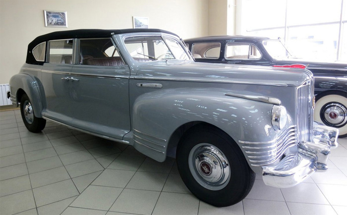 1949 ЗиС-110 Кабриолет. Киев. 44 752 275 рублей