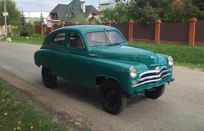 ГАЗ M-72, 1955 года выпуска, г. Москва, 7,5 млн. рублей