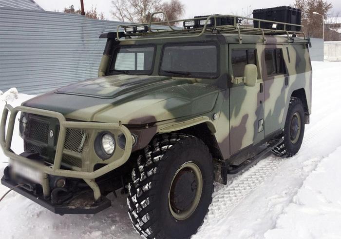 """ГАЗ-233001 """"Тигр"""", 2011 года выпуска, г. Новосибирск, 6 600 000 рублей"""