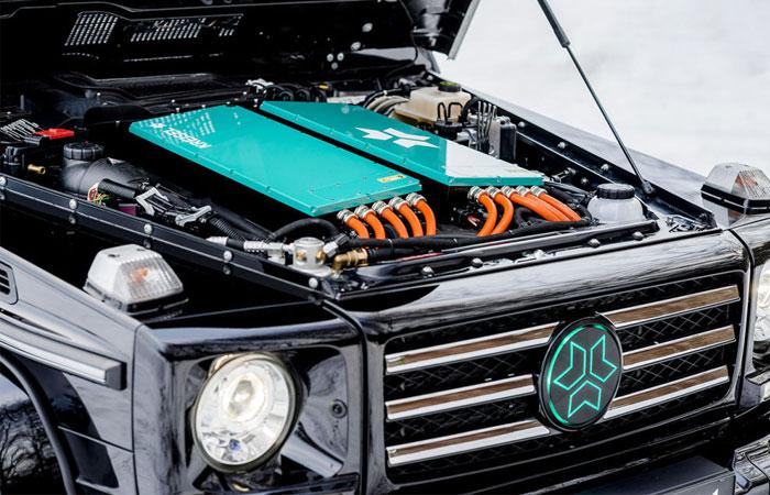 Для Шварценеггера создали специальный электромобиль на основе Гелендевагена