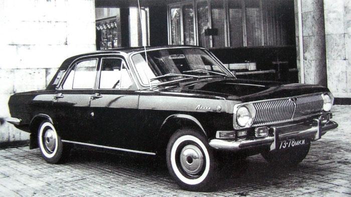 Автомобиль сопровождения ГАЗ-24-25 с мотором на 195 лошадей