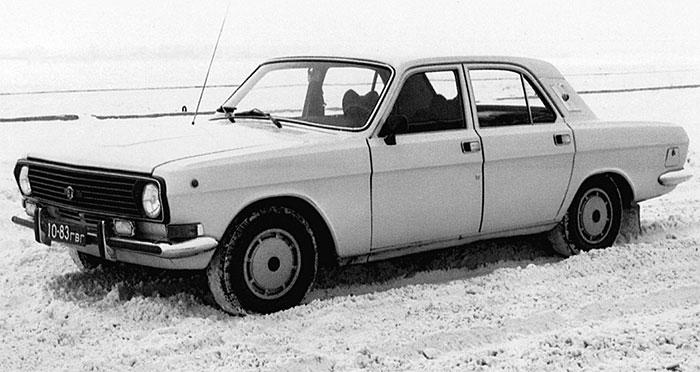 Спецавтомобиль внешнего наблюдения ГАЗ-24-34 на шасси ГАЗ-24-10
