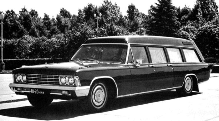 Медицинский автомобиль сопровождения ЗИЛ-114ЕА