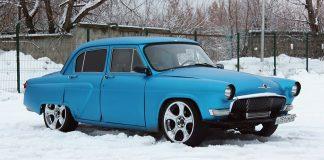 Советская Волга ГАЗ-21, доработанная по первому слову японской техники