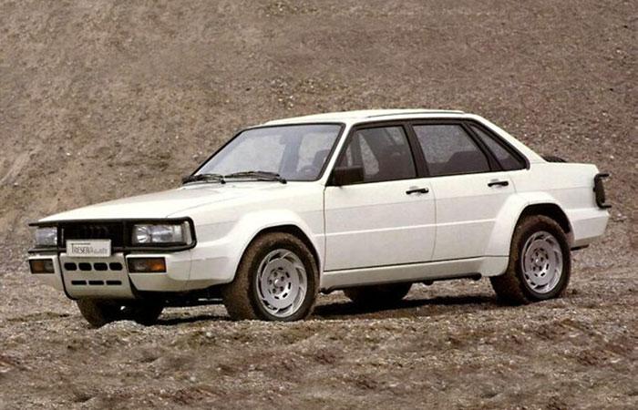 Audi 90 Quattro Trese