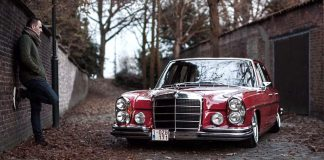 Классический Mercedes-Benz 280S
