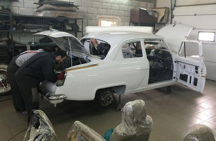«Волгу» ГАЗ-21 скрестили с Lexus GS