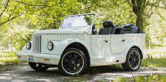 кабриолет ГАЗ-69 с двигателем от BMW