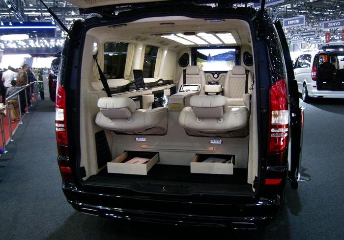 Лимузин KLASSEN Mercedes-Benz