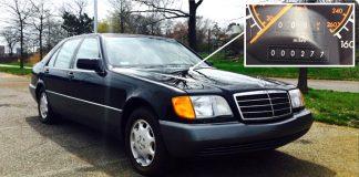 Пара 24-летних Mercedes-Benz S-Class почти без пробега продается на eBay
