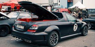 Чумовой пикап из Санкт-Петербурга: Mercedes-Benz S-Class Black Cox