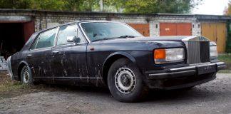 Брошенный Rolls-Royce обнаружен в гаражном кооперативе Харькова