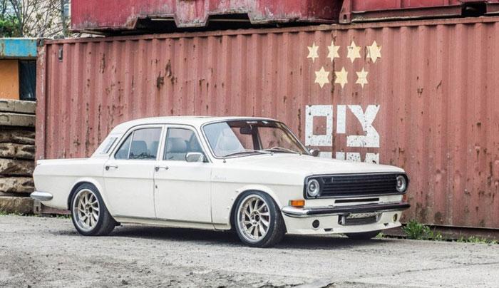 Как старенькая Волга ГАЗ-24 была доработана и получила новую жизнь