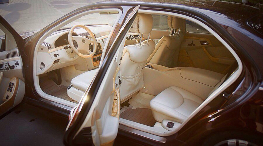Mercedes-Benz W220 Cardi Monomach