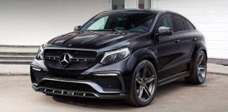 Эксклюзивный обвес для Mercedes GLE Coupe
