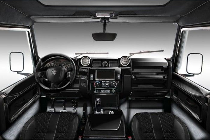 Land Rover Defender  Ares Design