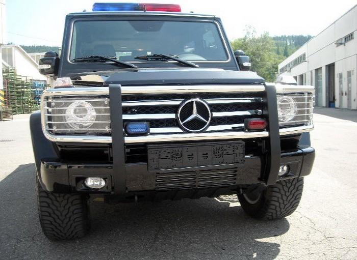 Представлен уникальный Mercedes Benz G XXL для сопровождения VIP-персон