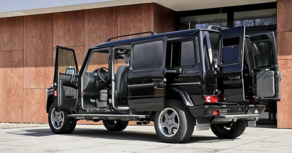Mercedes benz g xxl for Mercedes benz pickup truck for sale