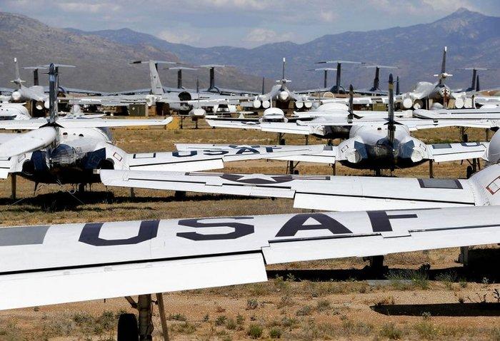 Американская военно воздушная база Davis-Monthan Air Force