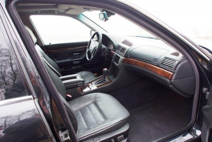 Автомобиль для босса: BMW L7 E38 с роскошной начинкой и крутым функционалом