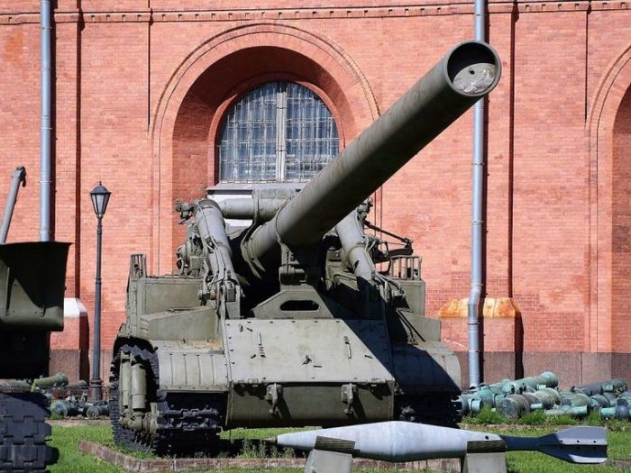 Советская «ядерная дубинка»: Самоходный ядерный миномет 2Б1 «Ока»