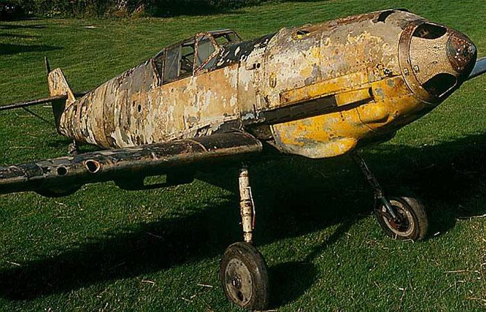 Самолет Bf-109E7.