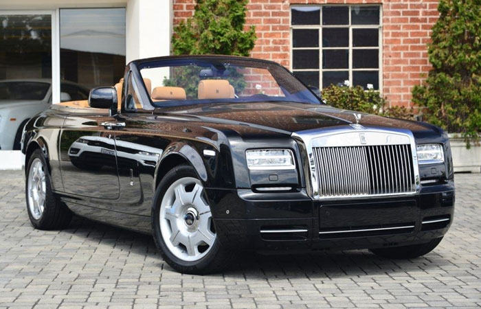 Кабриолет Rolls-Royce Phantom Сoupe.