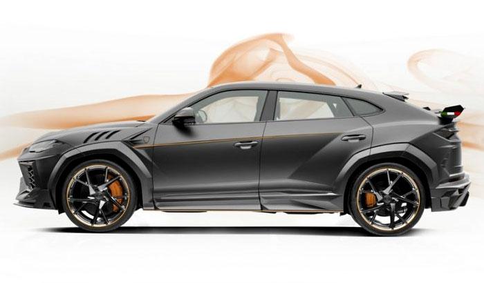 Lamborghini Urus Vertus от ателье Mansory